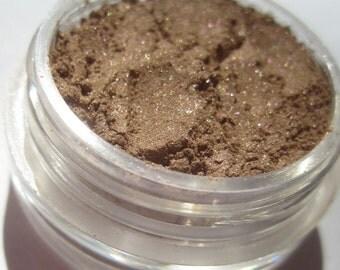 Braune Mineral Lidschatten Schimmer | Cruelty Free | Vegane Augen Make-up - zu Hause anrufen