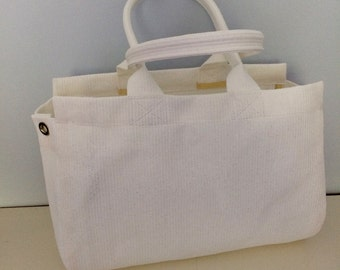 Tote bag, vegan tote bag, mesh tote bag, white tote bag, tote with pocket, strong tote bag, beach tote, grocery tote, shopping bag