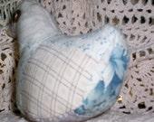 Antique Quilt Stuffed Duck