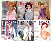 1996 Threads Magazines, No 63 to 68 with Index