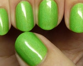 Sour Apple Pop - 15ml neon holo polish