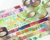 New-Japanese Washi Masking Tape - Little Path / Chamil Garden Vol.3 (Choose one)