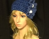 Denim Blue Headband