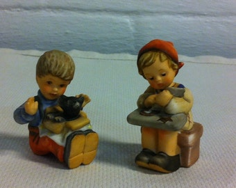 Two Goebel Figures circa 1987