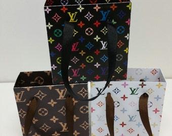 Mini Designer Inspired Fashionable gift bags