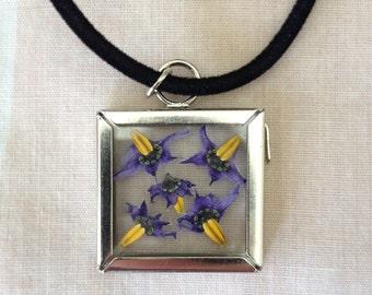 nightshade flower necklace