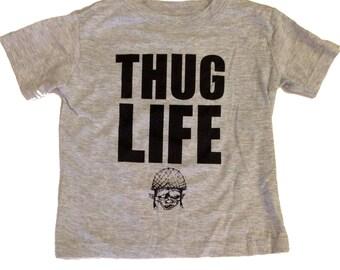 Thug Life Toddler Tee