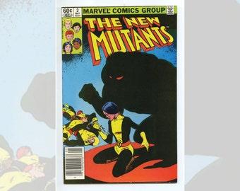 Marvel Comics The New Mutants #3 May 1983