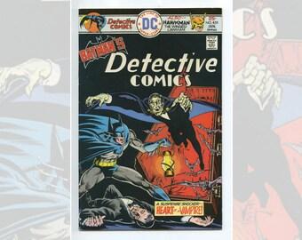 DC Batman's Detective Comics #455 Jan 1976