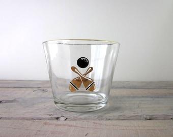 Retro Bowling Glass Ice Bucket