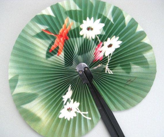 Hand fan decor paper fan wall fan flower fan wall decor - Wall fans decorative ...