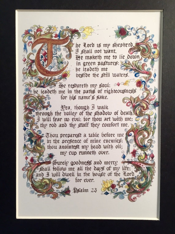 essays and psalm 23 An essay or paper on psalm 23: analysis psalm 23 is probably the most familiar passage there is in the word of god no portion in writing of any time or of any work.