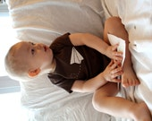 Paper Airplane Bodysuit for Baby, inspired by Paperman animated short, father's day gift for new dad
