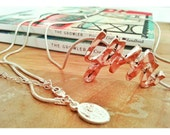 City Series Necklace: YVR Vancouver (also available, sea, pdx, yyc, yeg, ylw, yyj, lax, nyc)