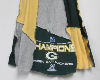 Recycled Packer Tshirt skirt