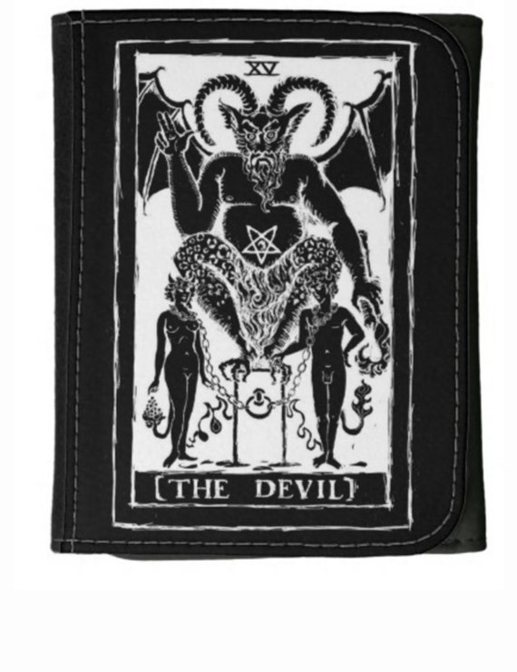 The Devil Tarot Wallet