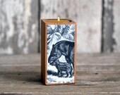 Natural History Candleblock: No. 3, Smokestack Tapir - by Peg and Awl
