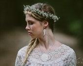 Wedding Jewelry, Porcelain Wing Earrings by Mrs Peterson Pottery