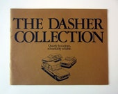 Original 1979 VW Dasher Collection Sales Brochure - Volkswagen Collectible - vintage volkswagen - promotional advertising - car advertising