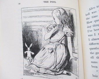 Alice's Adventures In Wonderland Book - Avenel Books