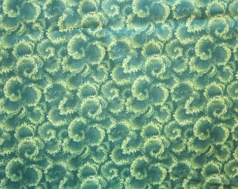 fabric by the yard - Spring Hill by Robert Kaufman - pattern 8461 - green - 44 inches wide