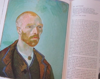 vintage book - Van Gogh in Arles - circa 1984 - fine art book