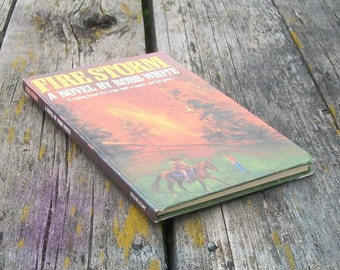 Vintage book Fire Storm A Novel by Robb White 1979 Weekly Reader Books