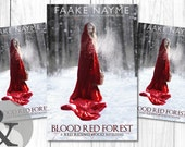 "Premade Digital eBook Book Cover Design ""Blood Red Forest"" Young Adult Magic Paranormal Fairy Tale Romance YA"