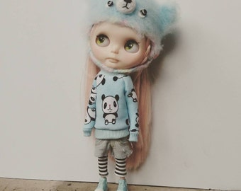 Sweater for blythe and similar dolls