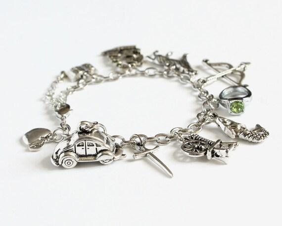 OUAT Characters Charm Bracelet