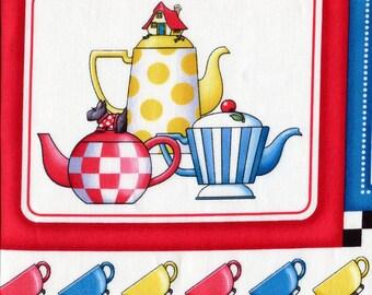 Teapot Patch - Mary Engelbreit - Half Yard