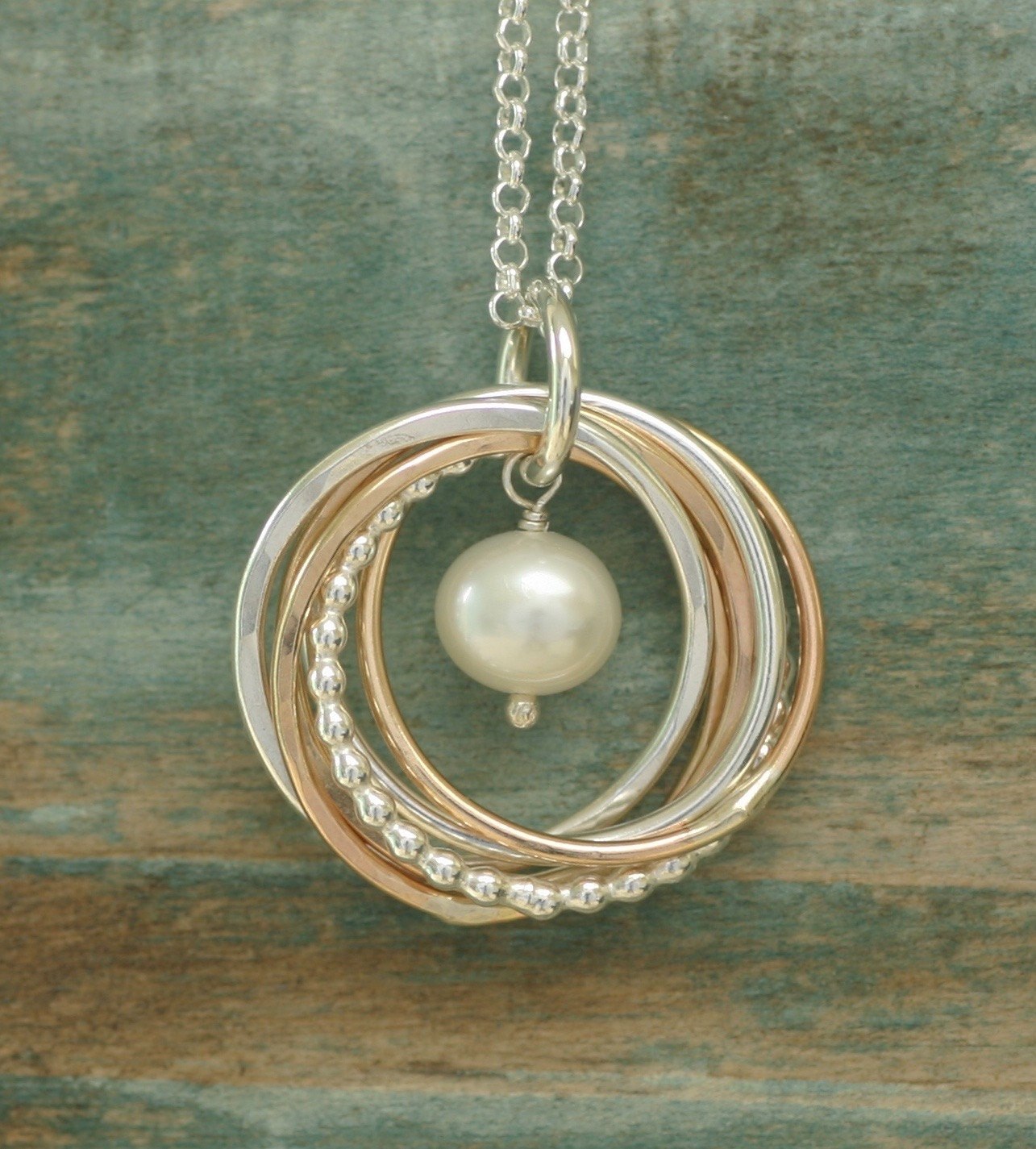 60th Birthday Gift Pearl Necklace 6 Year Anniversary Gift