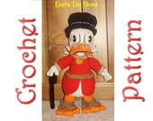 Uncle Scrooge a Crochet Pattern by Erin Scull