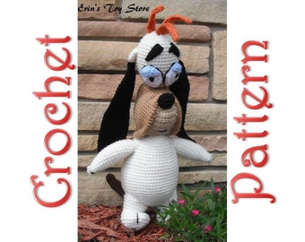 Dopey Dog a Crochet Pattern by Erin Scull