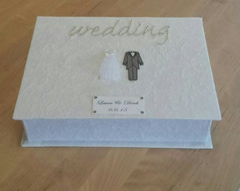 Personalized Bride and Groom Keepsake Box