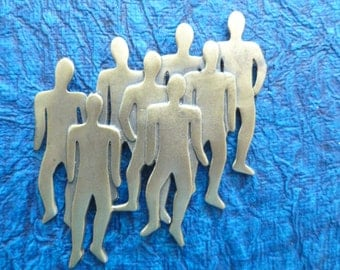 People Silhouette Magnet