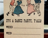 Dance Party Invite box set