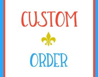 Custom Registry Listing for Joey Ballins