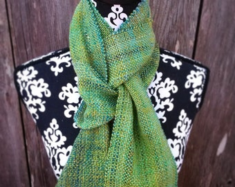 Hand Woven Scarf - Made to Order