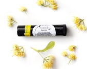Faerie Balm - organic herbal lip balm and moisturizer in black recycled-plastic tube