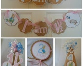 Peter Rabbit Smash Cake Party Package Beatrix  Potter bunny  Easter 1st birthday party decorations baby shower birthday