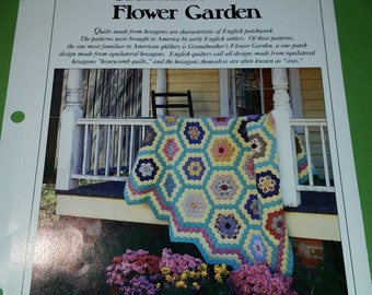 Vintage Hexagon Quilt Pattern