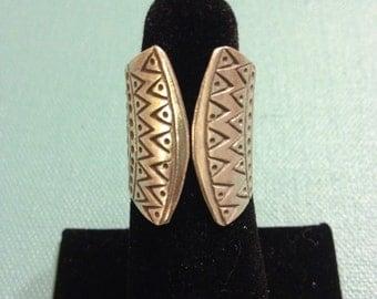 Tribal Vest Ring - Sterling Silver