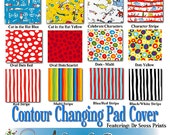 Changing Pad Cover - Featuring Dr. Seuss by Robert Kaufman, You Choose the Fabric