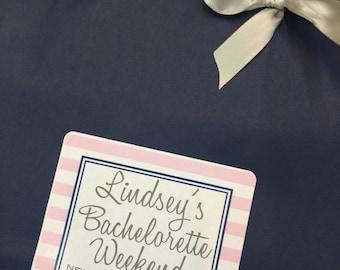 Bachelorette Party Hotel Guest Bag Destination Wedding Bags