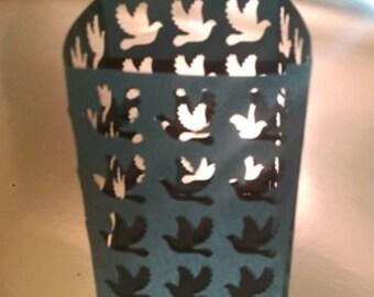 DIY dove box / luminary
