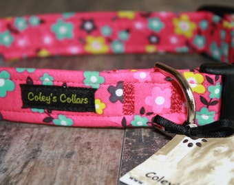 "Dog Collar ""The Ava"" Floral Dog Collar"
