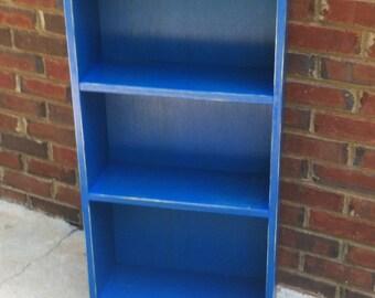 "Bookcase Storage Shelf  Shabby Style Handmade   35"" x 23"" x 7 1/2"""