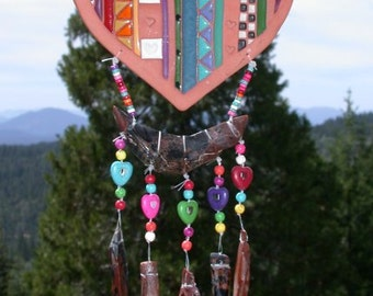 Happy Heart Suncatcher/Wind Chime