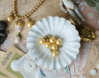 3 pcs of Gorgeous  pearl pendant